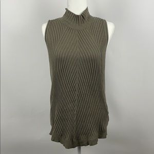 INC INTERNATIONAL CONCEPTS Ribbed Knit Top